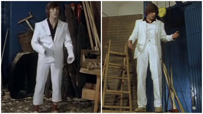 На качественный костюм советские мужчины охотились по-разному…