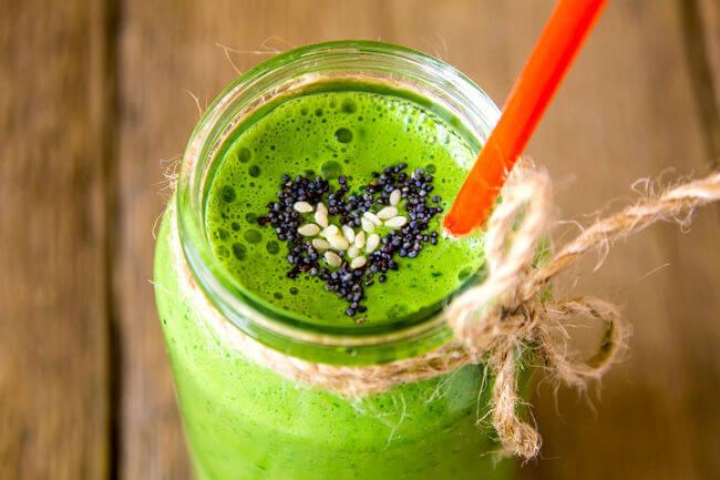 Овощной смузи – клетчитка и витаминный комплекс