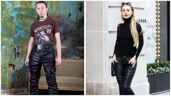 Кожаные штаны – для людей с высокой самооценкой.