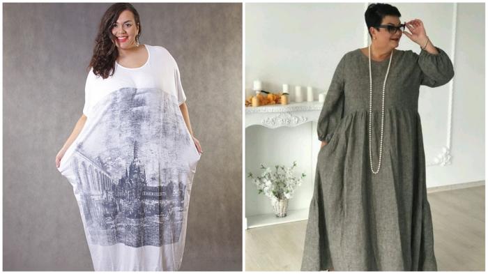 Просторная одежда для корпулентных женщин не имеет отношения к стилю «оверсайз» и «дресс-психоанализу».