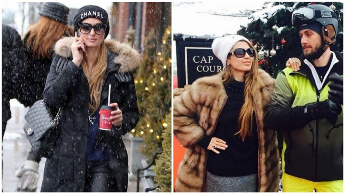 Очки зимой = богатая женщина?..