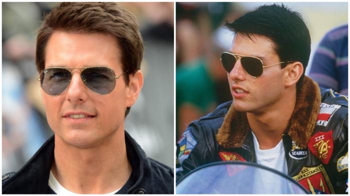 Том Круз в роли «лучшего стрелка» нечаянно сделал очки-«авиаторы» самой продаваемой моделью.