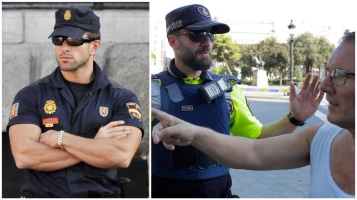 Солнцезащитные очки помогают сотрудникам полиции в случае экстренной ситуации не выдать эмоции.