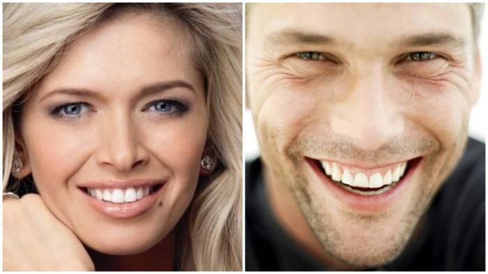 Достаточно закрыть нижнюю часть лица, чтобы по глазам понять, кто улыбается по-настоящему…