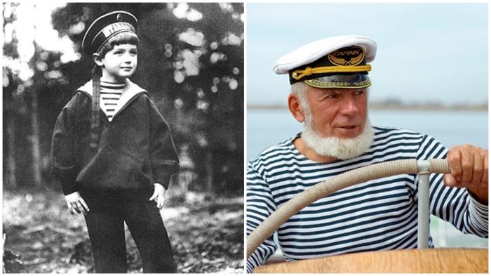 Тельняшка – классическая одежда моряков и... цесаревича Алексея.