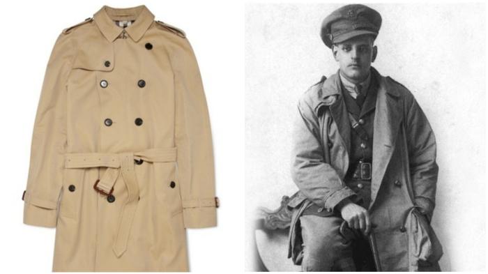 Тренч Burberry: одежда военных и полярников.