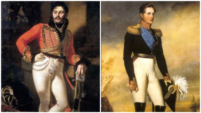 Евграф Давыдов и Николай I: настоящие мужчины даже ходят с трудом...