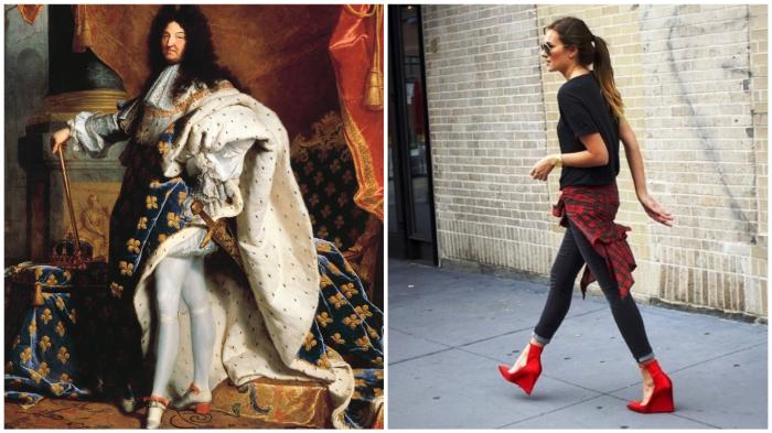 Миниатюрный предводитель «краснокаблучников» VS современная модница.