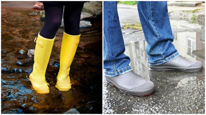 На каждую погоду – соответствующая обувь.