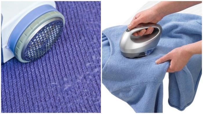 Удаление катышков – привычный для современных хозяек способ ухода за одеждой.