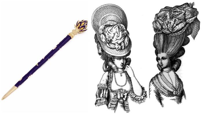 Палочка-чесалочка – гарант дисциплинированных мышей в причёске.