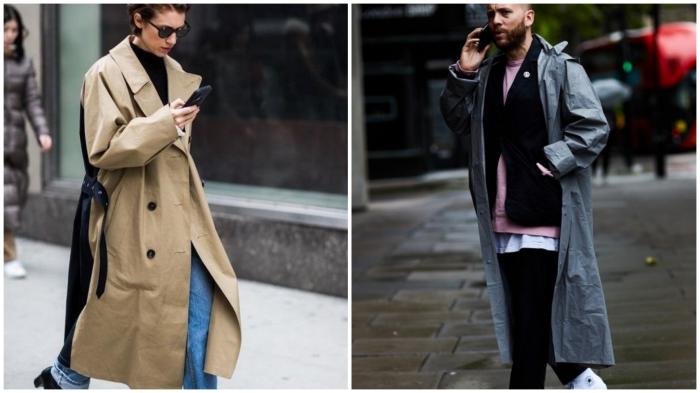 Пальто «оверсайз»: всегда в тренде.