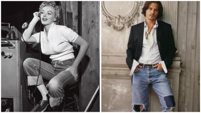 В джинсы вскоре облачились все слои населения…