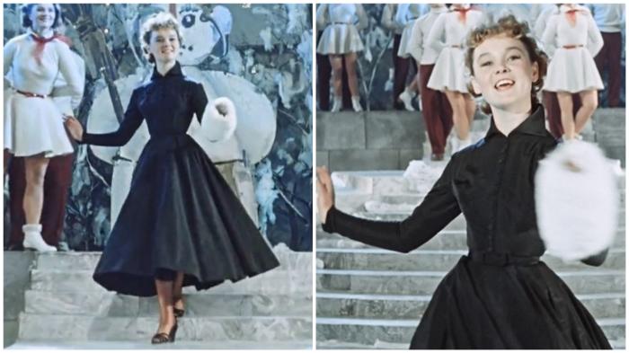 Знаменитое платье Леночки Крыловой – мечта советских женщин. В комплекте с талией Гурченко.