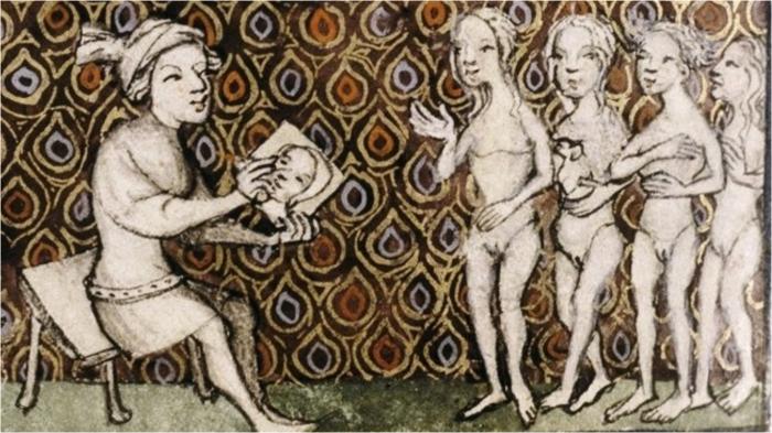 Бёдра средневековой женщины должны свидетельствовать о соблюдении строгого поста.