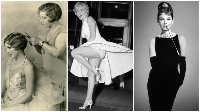 «Визитные карточки» моды 20 века.