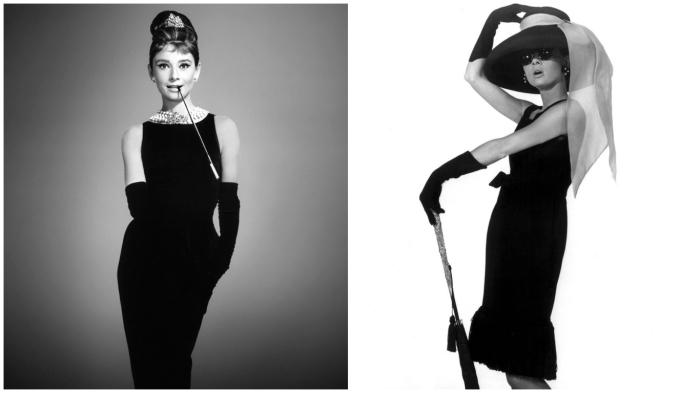 Одри Хепбёрн и маленькое чёрное платье – неделимое целое в истории моды.