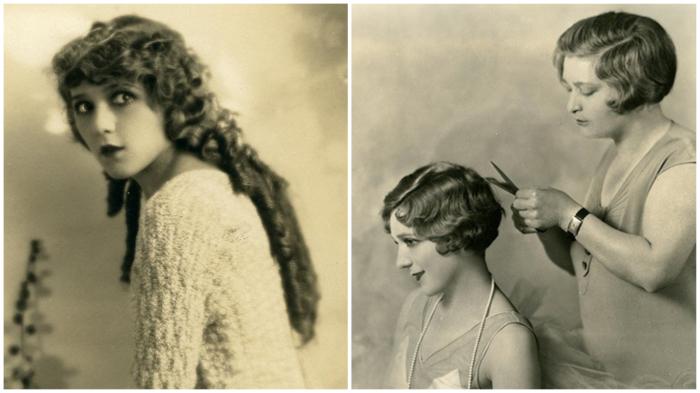 Мэри Пикфорд заявила, что короткая стрижка делает женщину некрасивой. Через два года Мэри сделала стрижку.