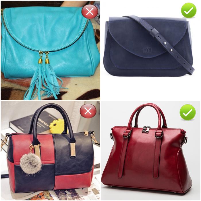 Женщина не может себе позволить… дешёвую сумку!