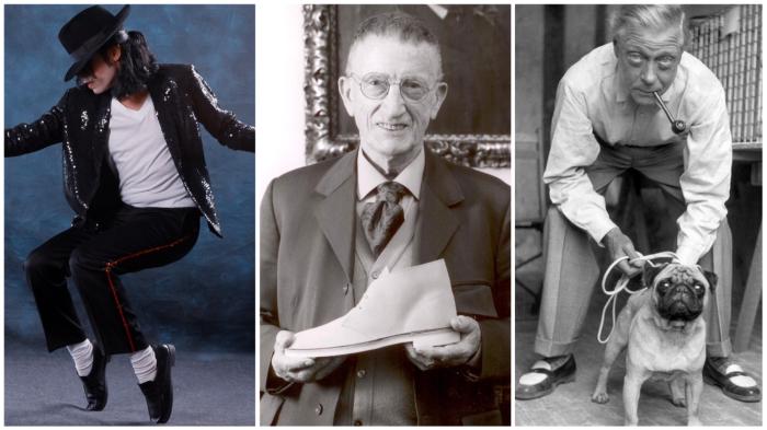 Люди-легенды и не менее легендарная обувь...