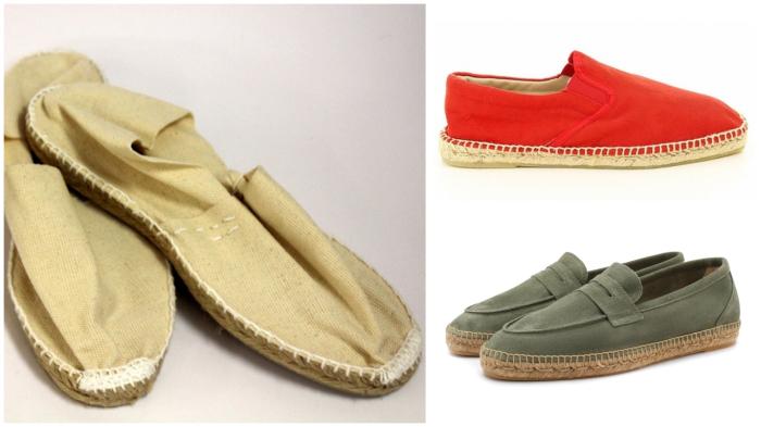 Эспадрильи – испанская национальная обувь с травяной подошвой.