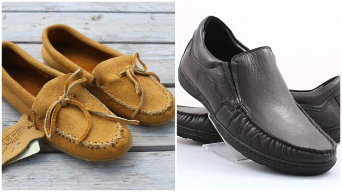 Первые лоферы от норвежского обувного мастера: мокасины на более жёсткой подошве.