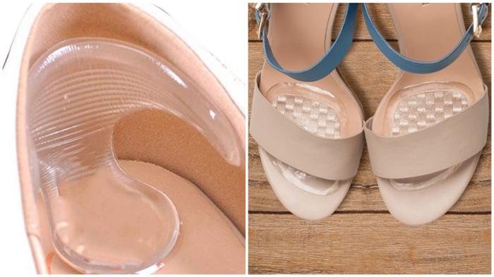 Силиконовые подушечки способны сделать удобной любую «проблемную» обувь.