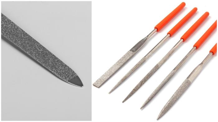Напильники с мелкой насечкой: чем не пилочка для ногтей?