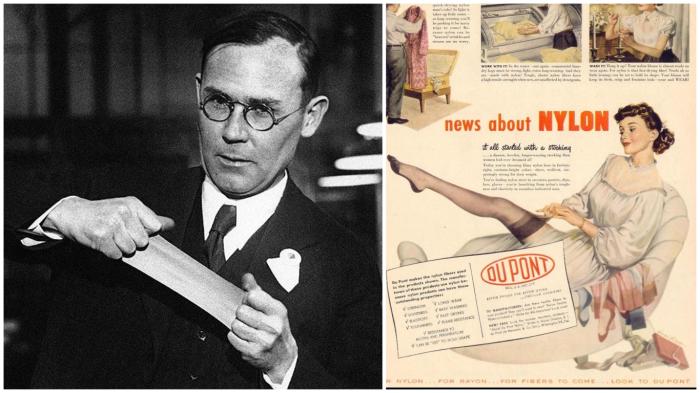 Создатель нейлона Уоллес Каротерс так и не узнал о великом будущем своего изобретения.
