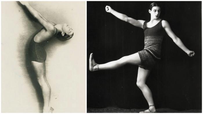 Купальные костюмы для балетной труппы Сергея Дягилева от Коко Шанель (1924 год).