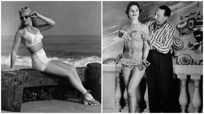 Жак Хейм – создатель первого раздельного купальника (1932 год).