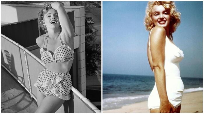 Даже Мэрилин Монро не всегда могла сниматься в бикини…