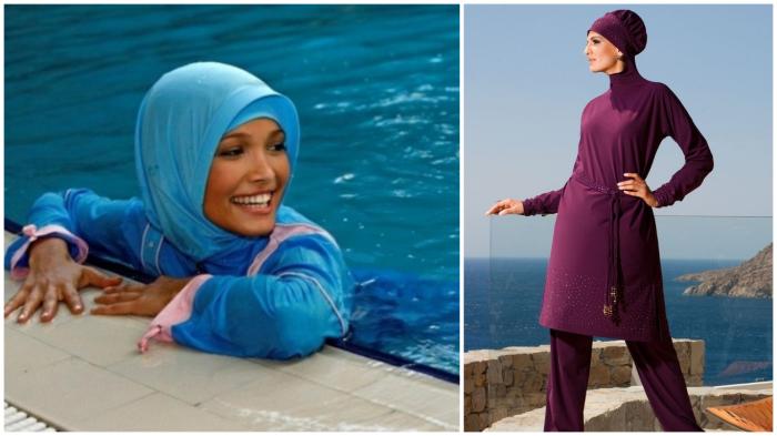 Модные купальные костюмы для «НЕевропейских» культурных традиций.