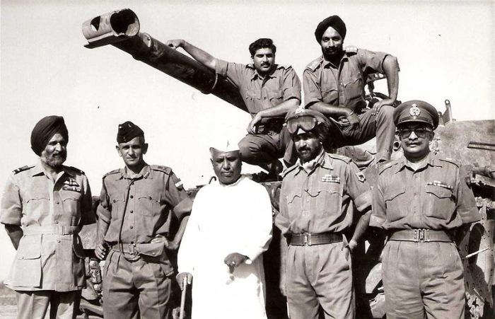 Третья индо-пакистанская война.