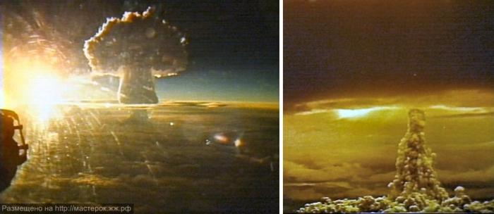 Гигантский ядерный гриб.