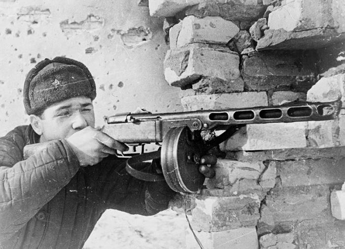 Пистолет-пулемет Шпагина. | Фото: Википедия.