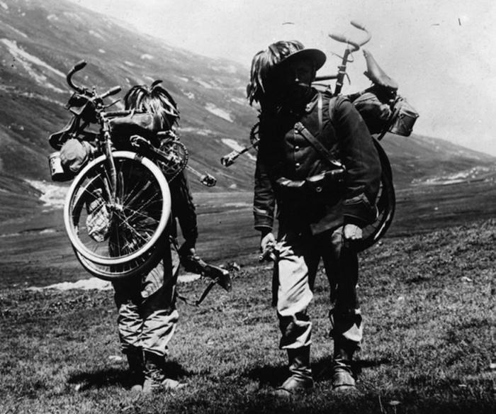 Военные велосипеды компании B.S.A.