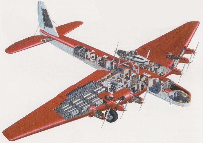 Размеры самолета поражали.