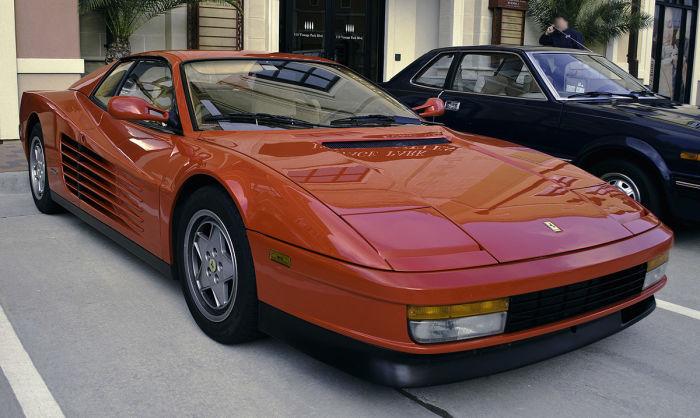 Testarossa 512 1991 года. | Фото: Википедия.
