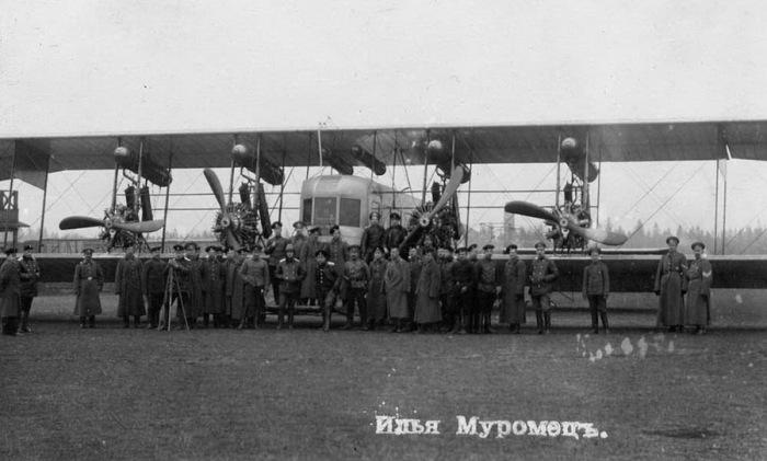 Легендарный самолет «Илья Муромец».