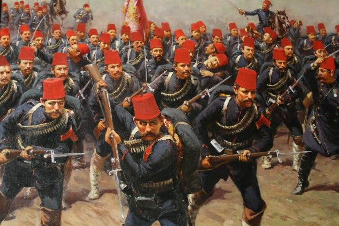 Первая греко-турецкая война.