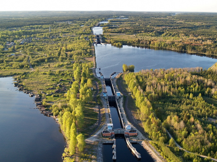 Беломоро-Балтийский канал| Фото: Википедия.