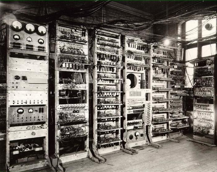 Легендарный компьютер «Марк-1».