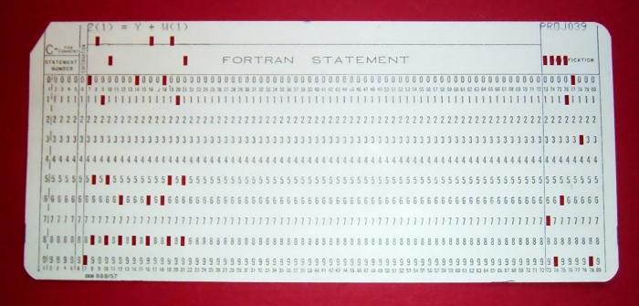 Язык программирования Фортран.
