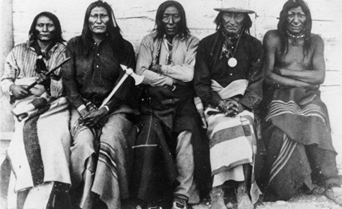 Индейцы кроу, 1871 год. | Фото: ИноСМИ.