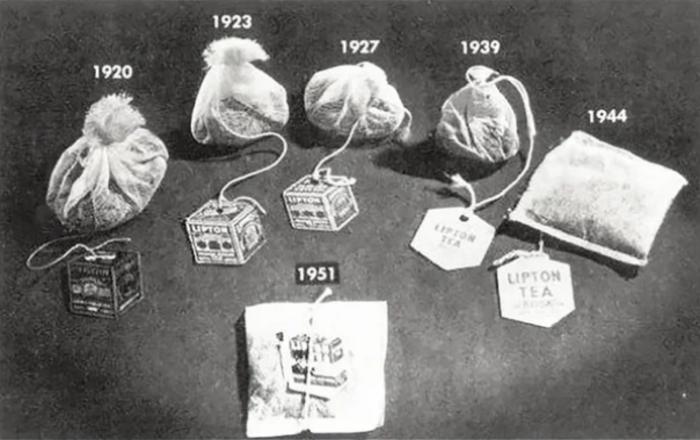 Эволюция чайных пакетиков.