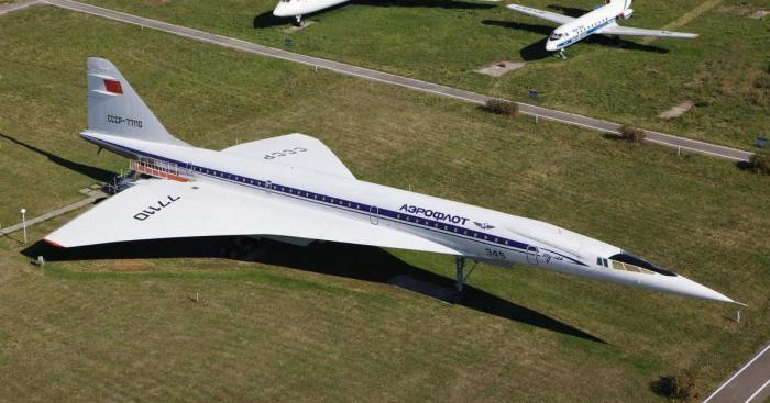 Ту-144. | Фото: Википедия.