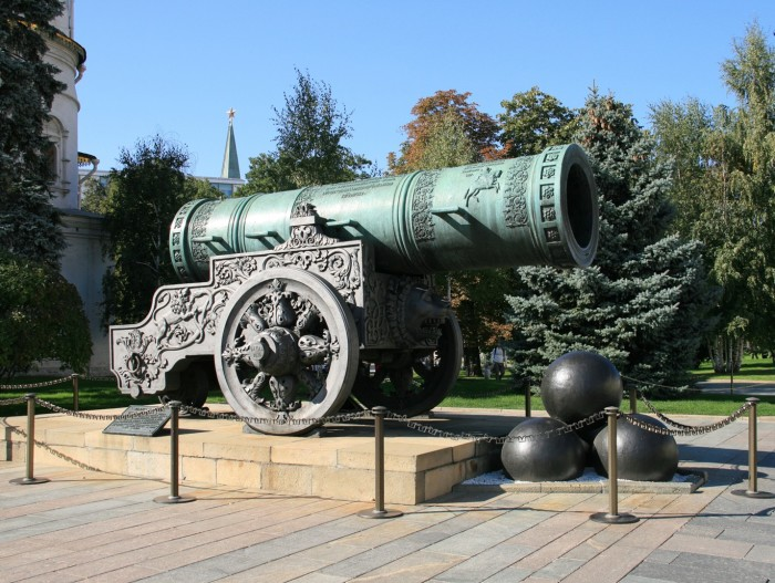 «Царь-пушка»| Фото: Культура.рф.