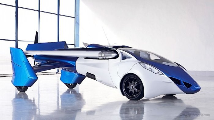 AeroMobil. | Фото: Norwegian.