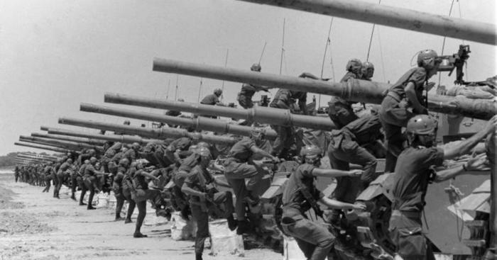 Iшестидневная война — один из самых коротких военных конфликтов в истории.